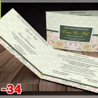 [V1] Undangan Pernikahan Soft Cover Murah & Unik 034