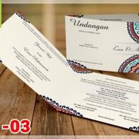 [V1] Undangan Pernikahan Soft Cover Murah & Unik 003