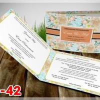 [V1] Undangan Pernikahan Soft Cover Murah & Unik 042