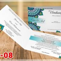[V1] Undangan Pernikahan Soft Cover Murah & Unik 008