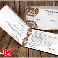 [V1] Undangan Pernikahan Soft Cover Murah & Unik 009