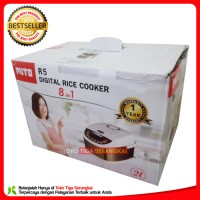 Mito Digital Rice Cooker 2 Liter 8 in 1 R5 - Silver