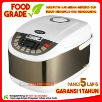 Mito Digital Rice Cooker 2 Liter 8 in 1 R5 - Silver