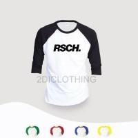 distro - kaos rsch raglan / kaos distro rsch - olshops