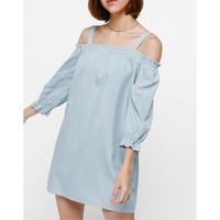 Mini Dress / Love Bonito / Mini Dress Katun / Mini Dress Off Shoulder