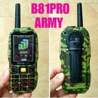 BRANDCODE B81 PRO ARMY / LORENG ( 3D SOUND PLUS BELTCLIP)