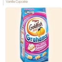 Pepperidge Goldfish Farm Baked Cracker Vanilla Cupcake Biscuit Biskuit