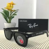 Ray Ban Wayfarer 2140 Polarized Lens black Glossy- Originalsss