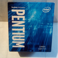 Intel Processor Pentium Dual Core G4400 BOX