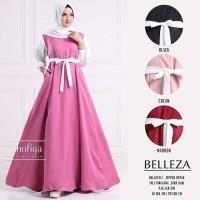 🌺 Belleza Dress Maxy ( Bahan Baloteli ) / Baju Gamis Muslim Beleza
