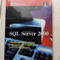 ORIGINAL SQL SERVER 2000 TANPA CD BUKU KOMPUTER