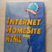 ORIGINAL CARA MUDAH BELAJAR INTERNET HOMESITE DAN HTML BUKU KOMPUTER