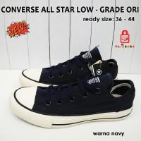 converse all star low grade ori - navy / sepatu import Online Shop
