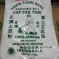 Sagu Cap Pak Tani Liauw Tjoei Kang / Tepung Tapioka 1 KG GROSIR