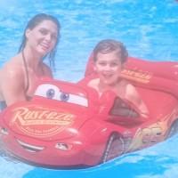 Pelampung Mobil Kids Disney Pixar Pool Cruiser 1.09mx71cm Intex 58392