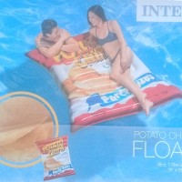 Matras Relax Air  Potato Chips Float 1.78mx1.4m - INTEX 58776
