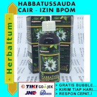 Minyak Habatusauda 60 ml (tanpa Kapsul) - Habbatussauda Cair izin BPOM