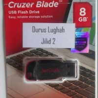 Flashdisk Video Panduan Durusul Lughoh Jilid 2 8 GB