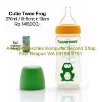 Tupperware Cutie Twee Frog Bottle 270ml Botol Minum Susu Anak 270 ml