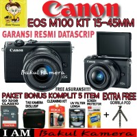 CANON EOS M100 KIT 15-45MM PAKET SUPER