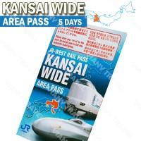 JR Kansai Wide Area Pass 5 Days ( Dewasa ) - Osaka Kyoto Nara