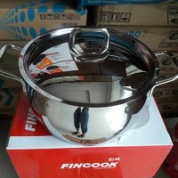 Panci Dutch Oven Stainless 24cm fincook