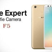 HP OPPO F5 YOUTH RAM 3/32 - F 5 GOLD & BLACK - GRS RESMI OPPO 1 TAHUN