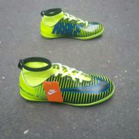 Sepatu Futsal anak Nike mercurial x Superfly hijau