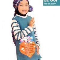 Promo Kaos Anak Perempuan Muslimah Kaos Outbond Family Gathering