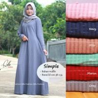 Baju Terusan Wanita Muslim Longdress Simple