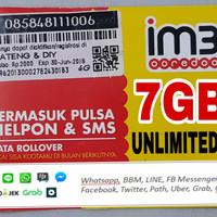 indosat 7GB+ unlimited app
