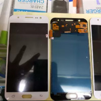 LCD 1SET SAMSUNG J500F J500G J500 GALAXY J5 J5 2015 ORIGINAL WHITE