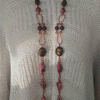 Harga kalung panjang etnik handmade kalung manik manik murah asesoris | Pembandingharga.com