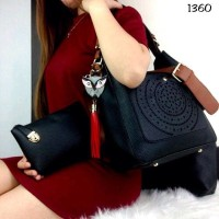 N1 TAS WANITA Fashion Hobo Mattrix 1360 Leather Tail SS17 With Owl Cha