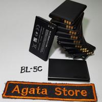 Baterai Nokia BL-5C BL5C Original 100% Microsoft Batre BL 5c Hitam Ori