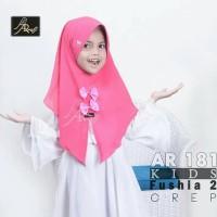 hijab Ar Rafi AR 181 jilbab anak hijab Kids now kerudung pita bergo