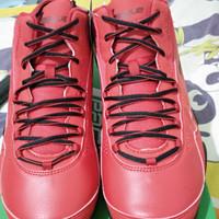 Sepatu Basket League Levitate Red Black size 45