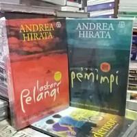 Novel ANDREA HIRATA - LASKAR PELANGI, SANG PEMIMPI - 2 BUKU