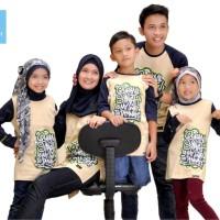 Promo Kaos Couple Keluarga Muslim Kaos Outbond Family Gathering