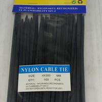 Kabel Ties 30 cm Hitam