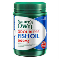Natures Own odourless fish oil 2000mg double strength