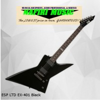 ESP LTD EX-401 Black 100% Original