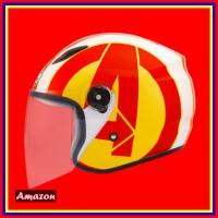 Helm Bmc Milan Avenger Iron Man