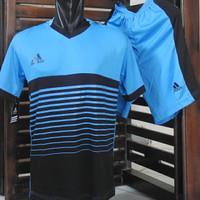 Setelan Olahraga Adidas / Kostum Bola / Jersey Futsal / Baju Tim Volly