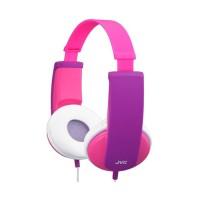 JVC HA-KD5 Headphones Kids Pink