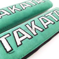PROMO AKHIR TAHUN TAKATA Racing Shoulder Pads Seat Belt Cover Green Su