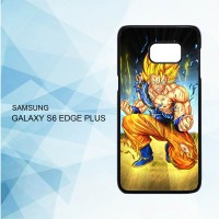 Casing Samsung Galaxy S6 Edge Plus Dragon Ball Z Goku X4458