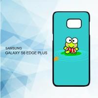 Casing Samsung Galaxy S6 Edge Plus wallpaper keroppi X4338