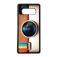 Case Casing Samsung Galaxy NOTE 8 Softcase Bumper Motif Logo Instagram