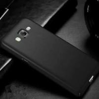 Samsung Galaxy J7 Core 2017 Softcase Slim Matte Black Silikon armor